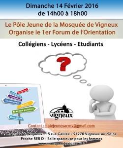Essonne : la mosquée de Vigneux-sur-Seine organise son premier forum de l'orientation