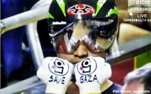 Save Gaza cycliste