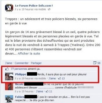 TRAPPES POLICE FACEBOOK 2