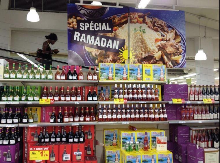 Ramadan é013 à Carrefour belle épine