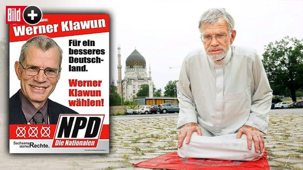 Wener Klawun, le député allemand d'extrême droite se reconvertit à l'islam à 75 ans !
