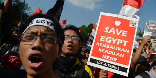 Jakarta - Manifestants indonésiens